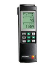 testo 445 — прибор для систем ОВК, включая чехол TopSafe