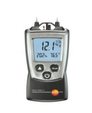 testo 606-2 — Карманный влагомер древесины и стройматериалов, вкл. измерение влажности и температуры окружающего воздуха