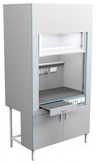 Шкаф вытяжной без сантехники ШВ НВК 1200 ЭПОК (1200x716x2200)
