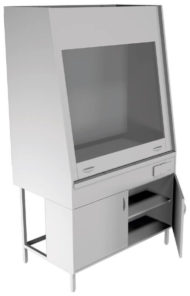 Вытяжной шкаф НВ-1200 ШВ-ПБ (1100*700*1960)
