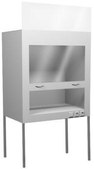 Вытяжной шкаф для муфельных печей НВ-1600 ШВп (1610*700*1960)